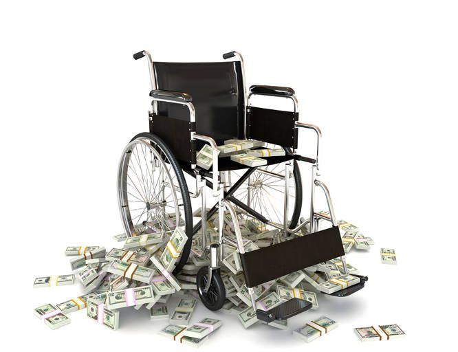 skilled nursing, wheel chair, money